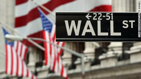 The Wall Street Sign Near Front Of New York Stock Exchange August 5