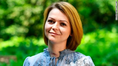 Yulia Skripal during an interview in London, Wednesday May 23, 2018.