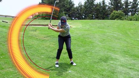 lorena takes a swing with effects