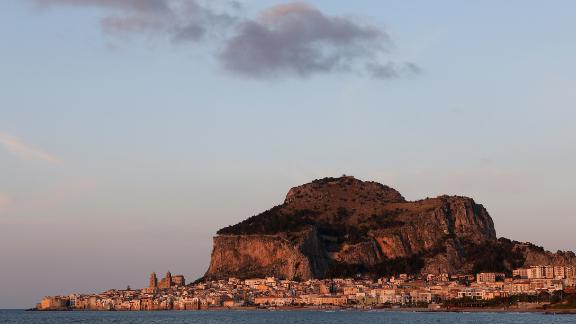 Cefalu, Sicily: The mountain of La Rocca, which rises above Cefalu, is scalable in around an hour (if the going