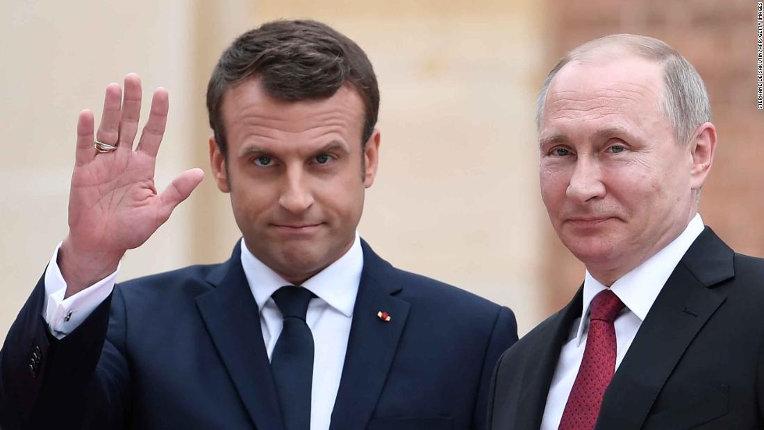 Ανάλυση: Macron άνοιγμα προς τη Ρωσία δοκιμές σύμμαχοι του ΝΑΤΟ
