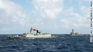 US warns of ability to take down Chinese artificial islands