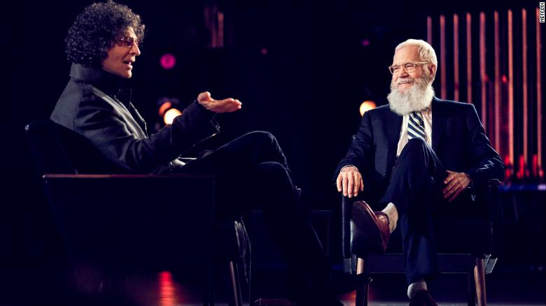 Howard Stern, David Letterman