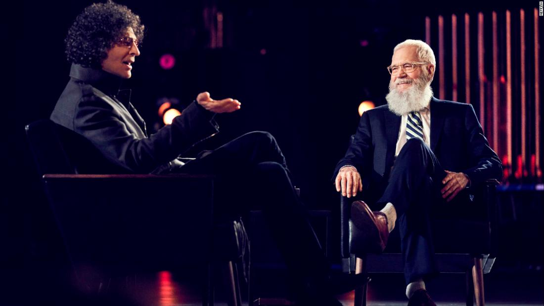 Image result for DAVID LETTERMAN HOWARD STERN NETFLIX