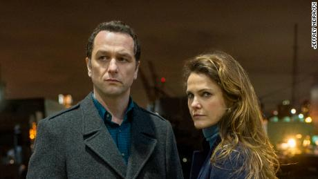 Keri Russell and Matthew Rhys in 'The Americans'