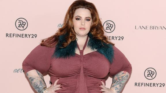 NEW YORK, NY - OCTOBER 26:  Model Tess Holliday attends Refinery29's Every Beautiful Body Symposium at Brookfield Place  on October 26, 2016 in New York City.  (Photo by Craig Barritt/Getty Images for Refinery29)