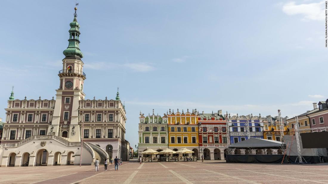 141de10198 <strong>Zamosc, Poland: </strong>The Renaissance town