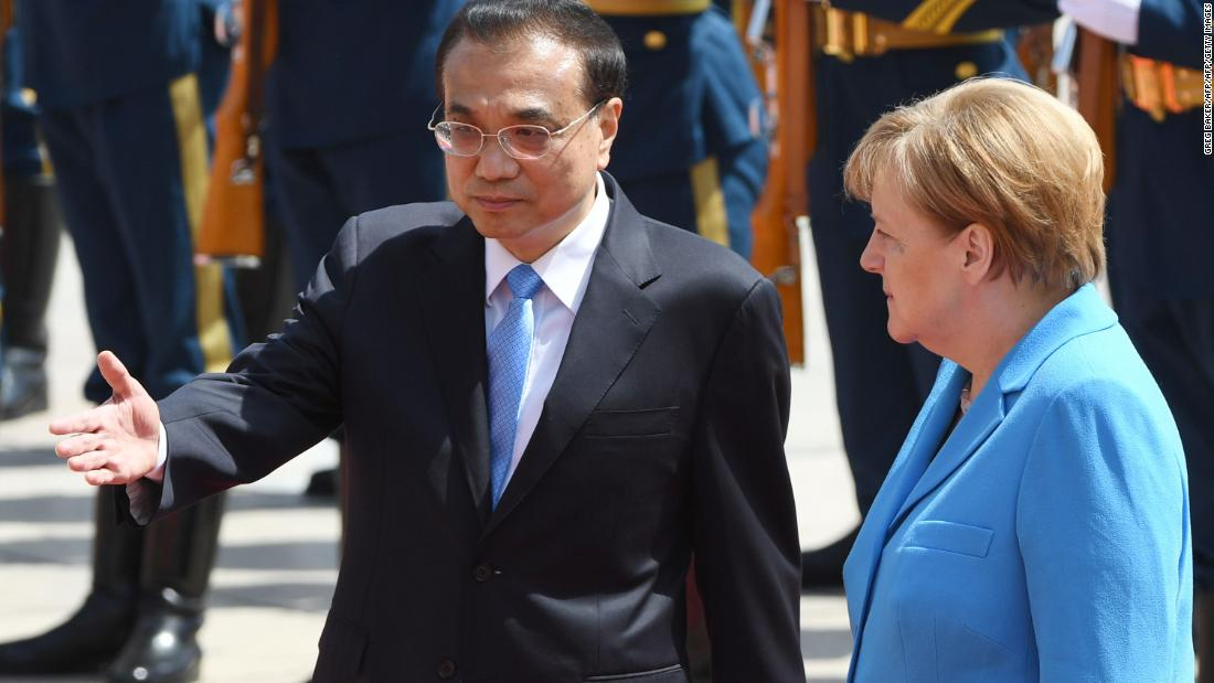China, Germany to stay in Iran nuclear deal as Khamenei lists demands