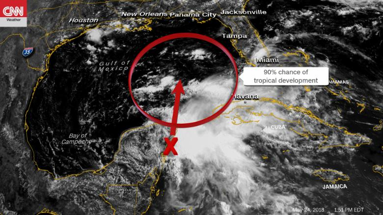 Tropical Weather System To Hit Over Holiday Weekend Cnn