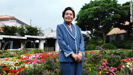 Yoshiko Shimabukuro, 88, is a Battle of Okinawa survivor. She wants young Okinawans, mainland Japanese and the world understand the importance of peace.