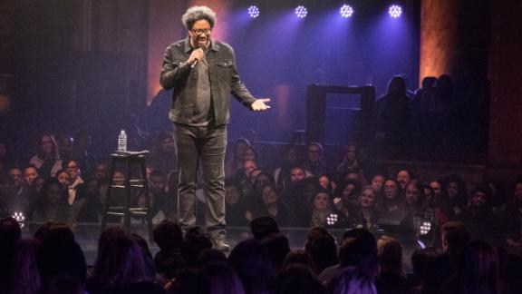 """W. Kamau Bell: Private School Negro"": Comedian, activist and CNN series host W. Kamau Bell covers everything from parenting in the Trump era to his fear of going off the grid in this standup special. (Netflix)"