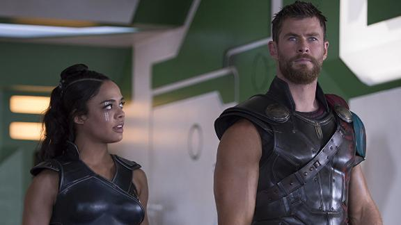 """Marvel Studios' Thor: Ragnarok"": The sequel to  2011's ""Thor"" and 2013's ""Thor: The Dark World"" finds the superhero battling against  the ruthless villain Hela. (Netflix)"