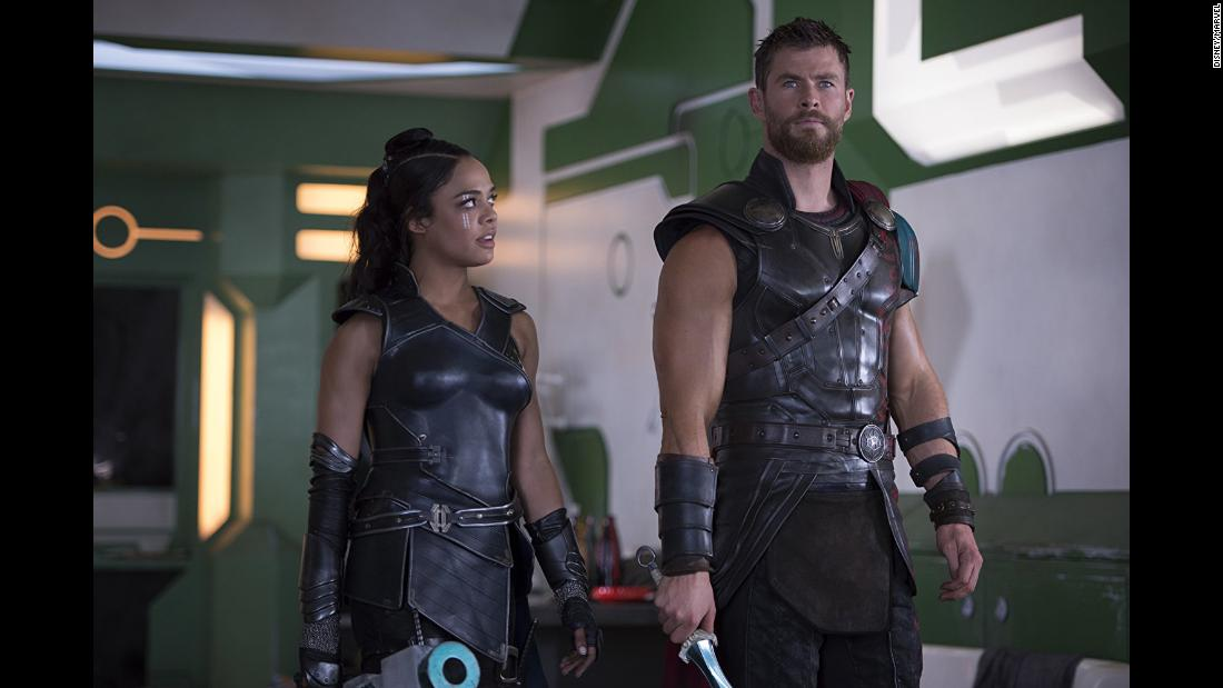 "<strong>""Marvel Studios' Thor: Ragnarok""</strong>: The sequel to  2011's ""Thor"" and 2013's ""Thor: The Dark World"" finds the superhero battling against  the ruthless villain Hela. <strong>(Netflix) </strong>"