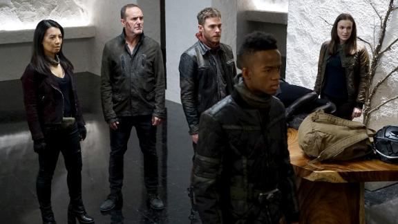 Marvel's Agents of S.H.I.E.L.D. Season 5: An elite team of fellow agents with a law-enforcement organization known as SHIELD (Strategic Homeland Intervention Enforcement and Logistics Division) investigate strange occurrences around the world in this series.(Netflix)