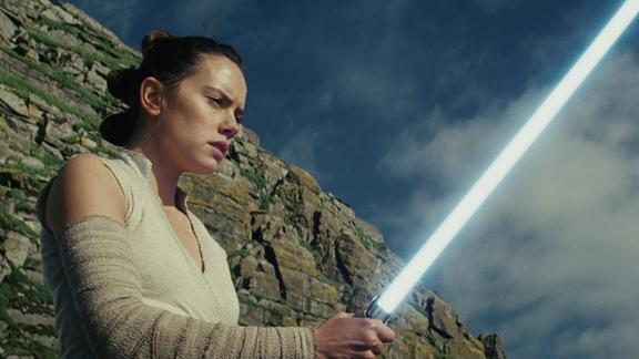 """Star Wars: The Last Jedi"": In the second installment of the ""Star Wars"" sequel trilogy, which follows 2015's ""Star Wars: The Force Awakens,"" Rey develops her newly discovered abilities with the guidance of Luke Skywalker..(Netflix)"