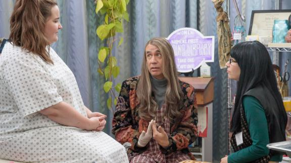 """Portlandia"" Season 8: Aidy Bryant appears in this comedy series that pokes fun at life in Portland, Oregon and stars Fred Armisen and Carrie Brownstein. (Netflix)"