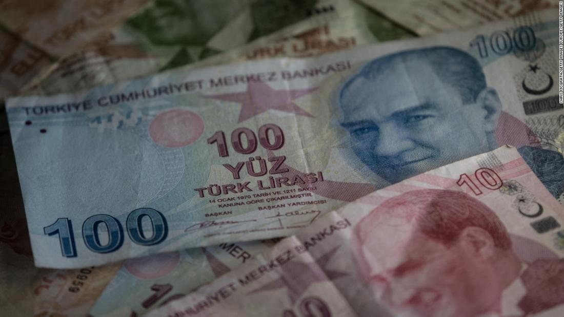 Turkey's currency crash puts economy at heart of election