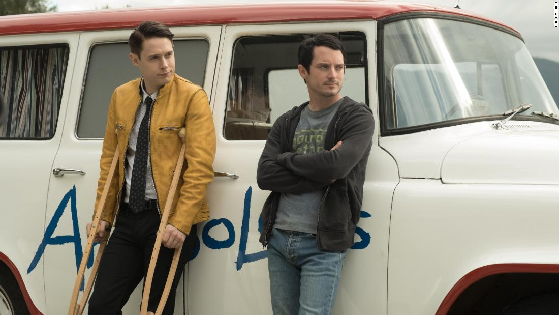 "<strong>""Dirk Gently's Holistic Detective Agency"" Season 2</strong>: Holistic detective Dirk Gently (Samuel Barnett) and his reluctant sidekick Todd Brotzman (Elijah Wood) star as the central characters in this sci-fi detective series.<strong> (Hulu) </strong>"