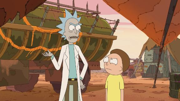 """Rick and Morty"" Season 3: This animated series follows the exploits of a scientist and his not-so-bright grandson has a cult following.(Hulu)"