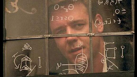 """ A Beautiful Mind"": This biographical drama based on the life of John Nash, a Nobel Laureate in economics, won several Academy Awards, including best picture. (Hulu)"