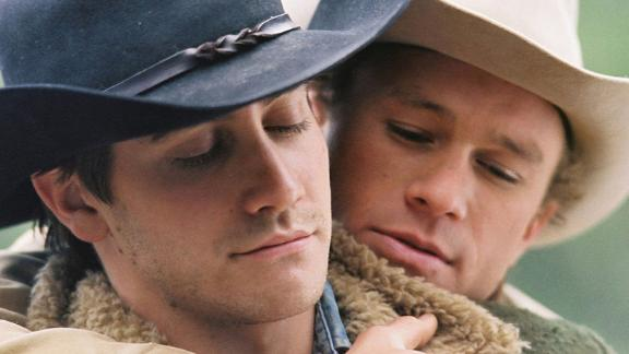 """Brokeback Mountain"": It will be hard to quit this drama in which Jake Gyllenhaal and Heath Ledger star as a pair of cowboys who must hide their true feelings for each other.  (Hulu)"