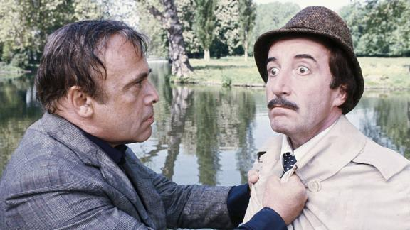 """The Pink Panther Strikes Again"": Long suffering Charles Dreyfus (Herbert Lom) escapes from a mental institution and attempts to get rid of Chief Inspector Clouseau (Peter Sellers) in this comedy. (Amazon Prime, Hulu)"