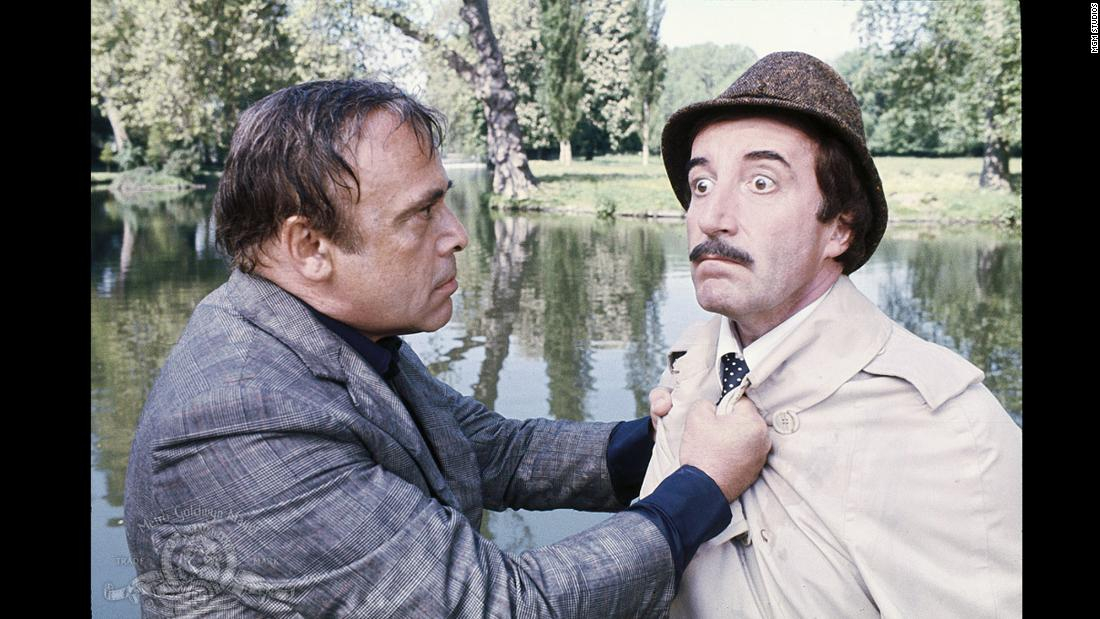 "<strong>""The Pink Panther Strikes Again""</strong>: Long suffering Charles Dreyfus (Herbert Lom) escapes from a mental institution and attempts to get rid of Chief Inspector Clouseau (Peter Sellers) in this comedy. <strong>(Amazon Prime, Hulu) </strong>"