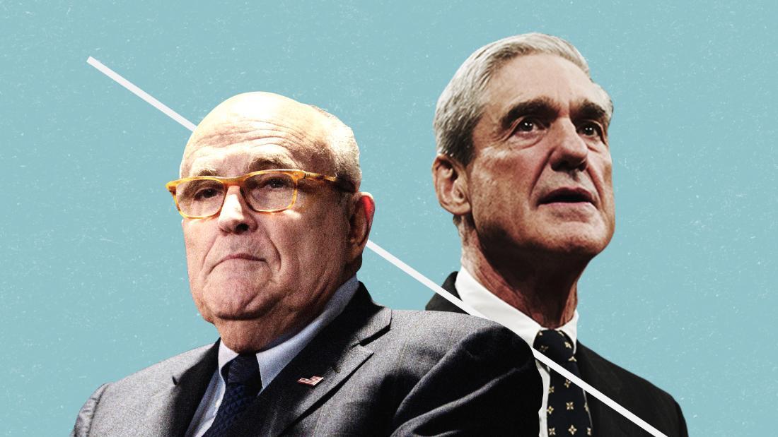 Giuliani says origin of Mueller probe was 'illegitimate'