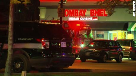 At least 15 people were injured during an explosion May 24 at Bombay Bhel Indian restaurant in Mississauga, Canada