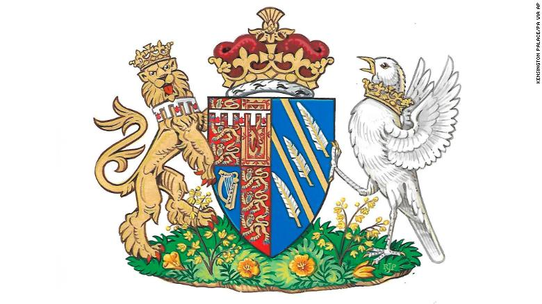 Meghan Markle's coat of arms unveiled
