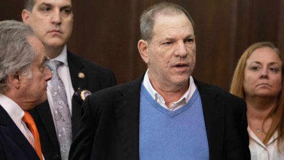 Harvey Weinstein in court on May 25