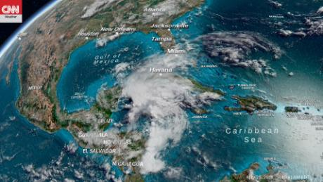 Subtropical Storm Alberto eyes Gulf Coast for Memorial Day