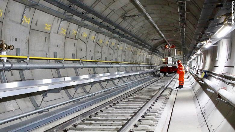 When will London's colossal underground Crossrail project finally be completed?