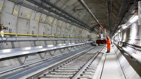 London's Crossrail Elizabeth line