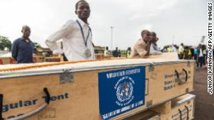 Congo Ebola outbreak not a public health emergency of international concern, WHO says