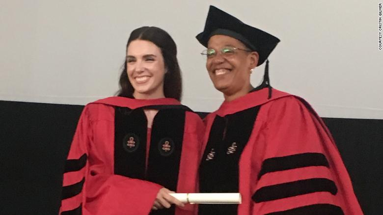Christin Gilmer received her doctor of public health degree on May 23, 2018.