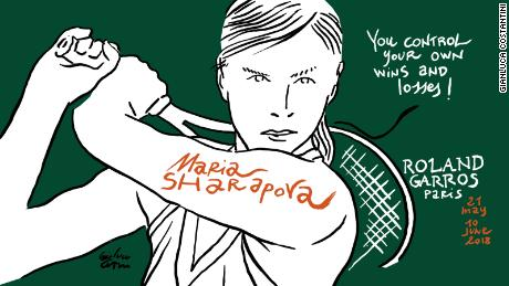 Maria Sharapova French Open Roland Garros
