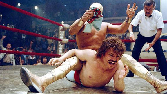 """Nacho Libre"": Jack Black stars as a monk who pursues his dream of becoming a Mexican wrestler. (Amazon Prime)"