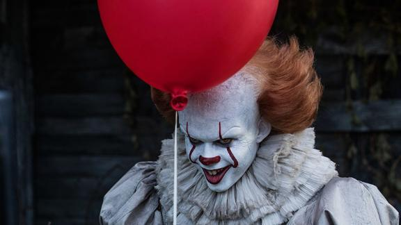 """It"": A group of bullied kids band together to destroy a shapeshifting monster, which disguises itself as a clown and preys on the children of their small Maine town in this film adaptation of a popular Stephen King novel. (HBO Now)"
