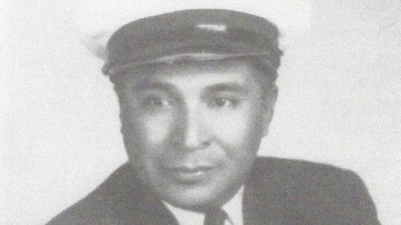 Ray Chavez during his Navy service.