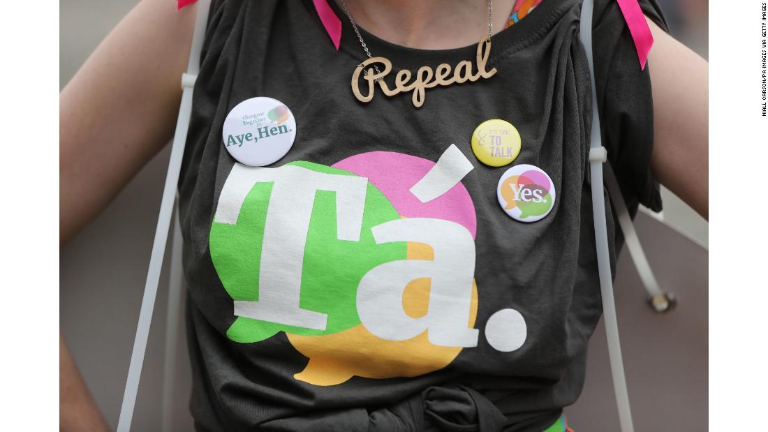 Ireland repeals amendment banning abortion