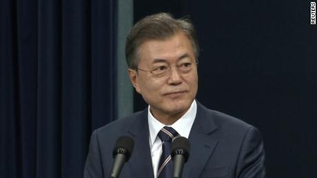 S. Korean President Moon Jae-in