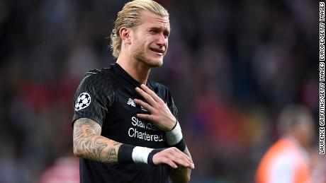 Loris Karius was in tears after the Champions League final.