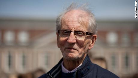 Author Brendan Lynch, 81, said it was a happy day.