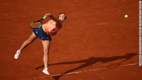 Ostapenko dethroned as French Open champion