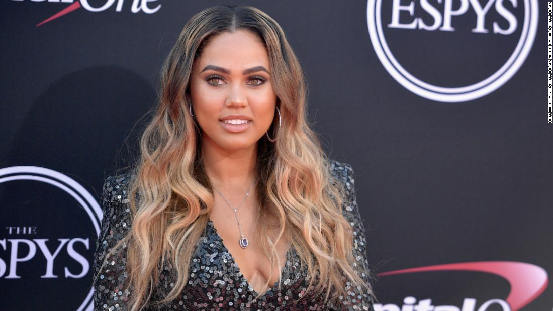 Stephen Curry's wife calls out comment body-shaming her son