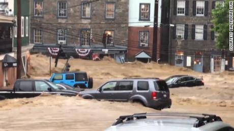 Main Street Ellicott City Flooding