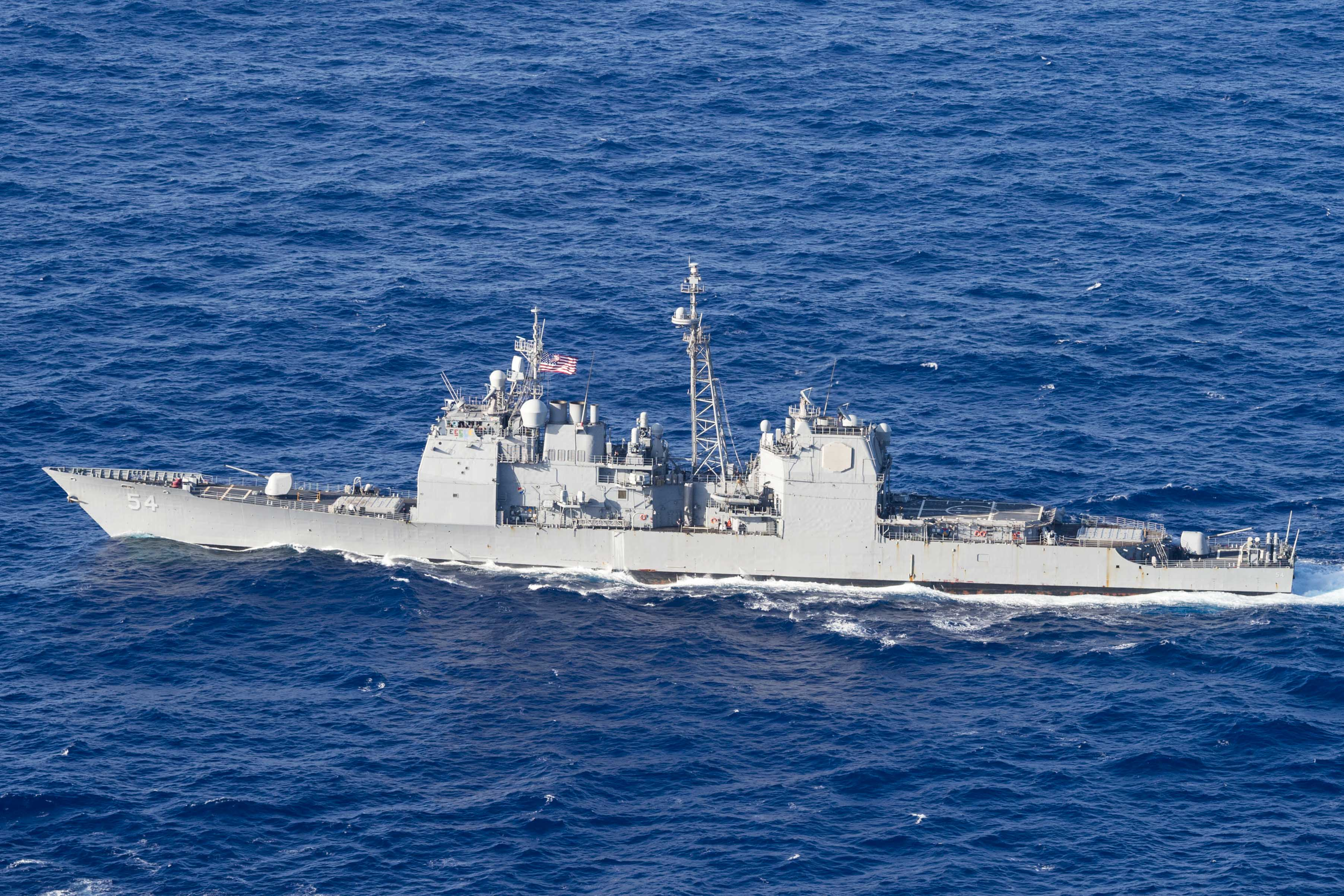 Image result for US warship sails near Chinese-controlled Paracel Islands