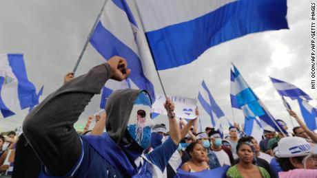 Nicaragua using 'shoot to kill' strategy on protesters, Amnesty International says