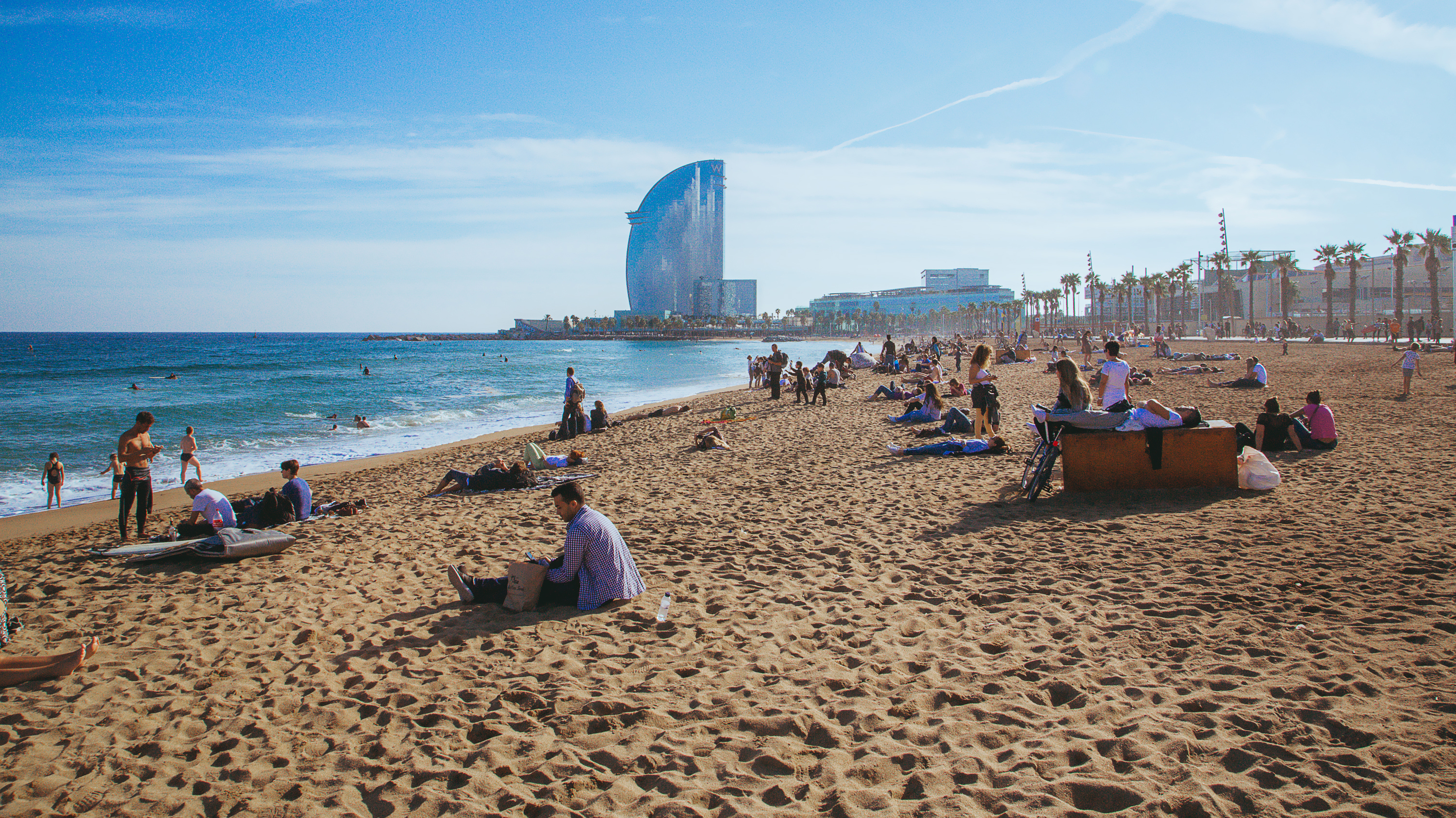 Barcelona Beaches Your Guide To Picking The Best Stretch Of Sand Cnn Travel